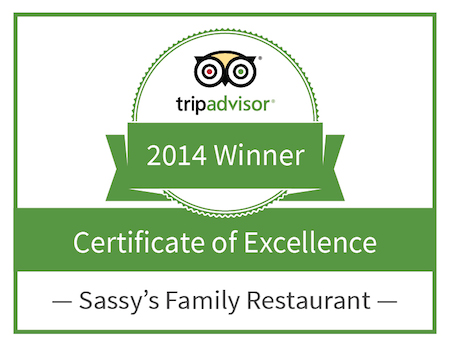 Thank you for your continued support and for your reviews of Sassy's!